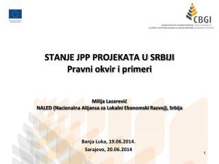 Banja Luka, 19.06.2014. Sarajevo ,  20 .06.2014