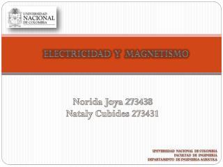 Norida Joya 273438 Nataly Cubides 273431