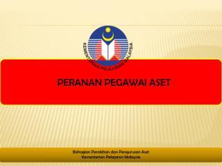 Bahagian Perolehan  dan  Pengurusan  Aset  Kementerian Pelajaran Malaysia
