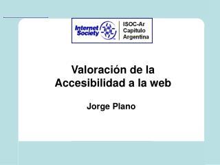 Valoraci n de la Accesibilidad a la web