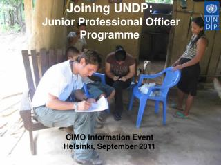 UNDP is the United Nations' global development network: Advocating for change