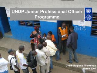 UNDP Junior Professional Officer Programme