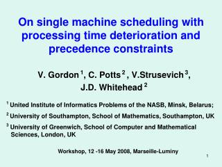 On single machine scheduling with processing time deterioration and precedence constraints