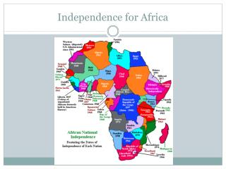 Independence for Africa