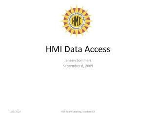 HMI Data Access