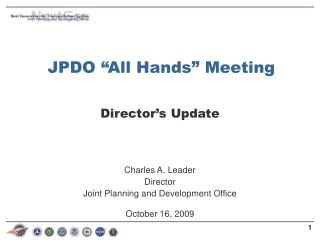 JPDO �All Hands� Meeting