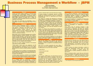 Business Process Management e Workflow  -  jBPM