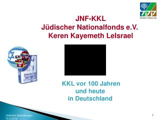JNF-KKL Jüdischer Nationalfonds e.V. Keren Kayemeth LeIsrael