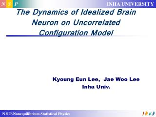 The Dynamics of Idealized Brain Neuron on Uncorrelated Configuration Model
