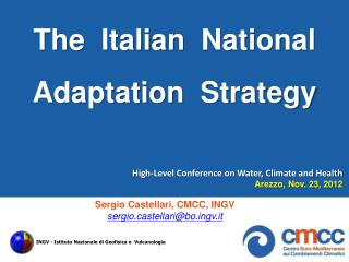 The   Italian   National  Adaptation Strategy