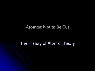 Bohr s atomic model