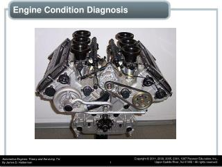 Engine Condition Diagnosis