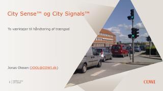 City  Sense ™ og City Signals™