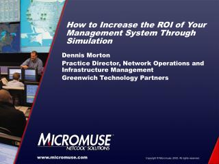 How to Increase the ROI of Your Management System Through Simulation