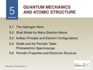 QUANTUM MECHANICS AND ATOMIC STRUCTURE