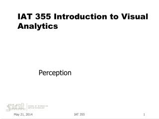 IAT 355  Introduction to Visual Analytics