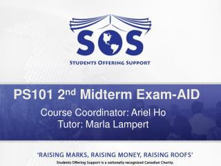 PS101 2 nd  Midterm Exam-AID