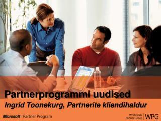 Partnerprogrammi uudised Ingrid Toonekurg, Partnerite kliendihaldur