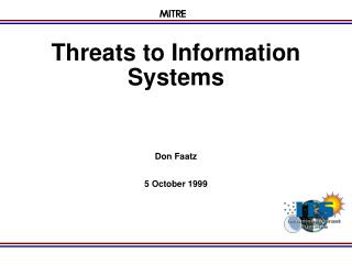 Threats to Information Systems