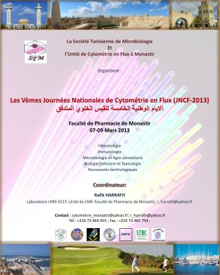Faculté de Pharmacie de Monastir 07-09 Mars 2013