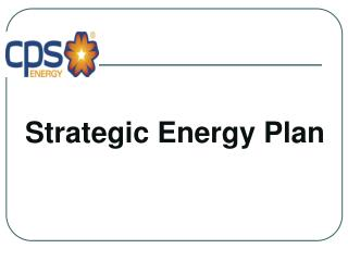 Strategic Energy Plan