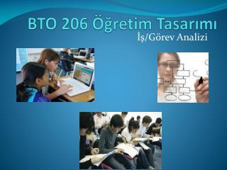 BTO 206 Öğretim Tasarımı