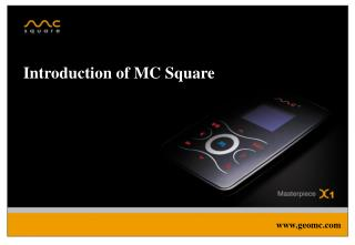 Introduction of MC Square