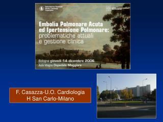 F. Casazza-U.O. Cardiologia H San Carlo-Milano