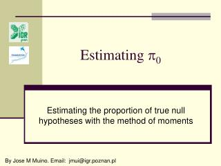 Estimating   0