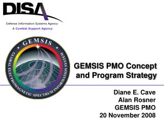 GEMSIS PMO Concept and Program Strategy