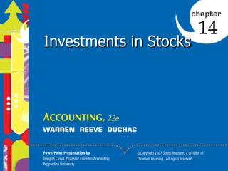 Investments in Stocks