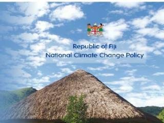 National Climate Change Policy 2012