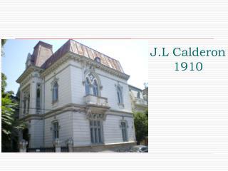 J.L Calderon 1910