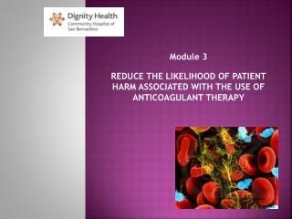 Coumadin warfarin Anticoagulant Therapy