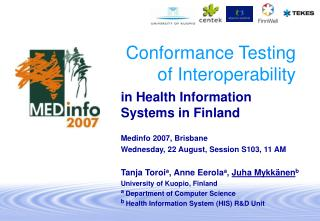 Conformance Testing of Interoperability