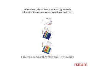 E Goulielmakis  et al. Nature 466 , 739-743 (2010) doi:10.1038/nature09212