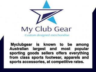 Sports Clothing Stores