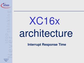 XC16x architecture