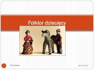 Folklor dziecięcy
