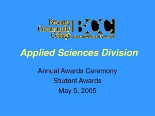 Applied Sciences Division