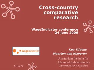 Cross-country  comparative  research  WageIndicator conference  24 june 2006