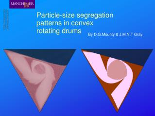 Particle-size segregation patterns in convex rotating drums