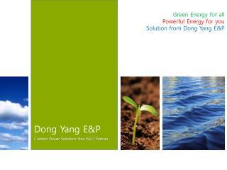 Dong Yang E&P