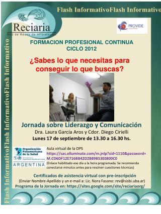 Jornada sobre Liderazgo y Comunicación