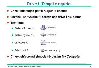 Drive-t (Disqet e ngurta)