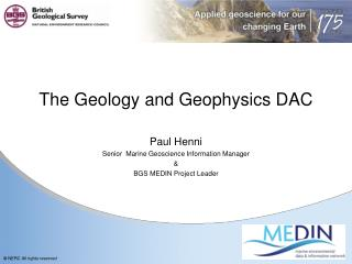The Geology and Geophysics DAC