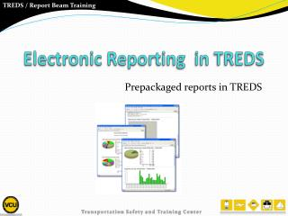 Electronic Reporting  in TREDS