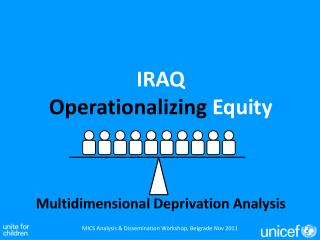 IRAQ Operationalizing  Equity
