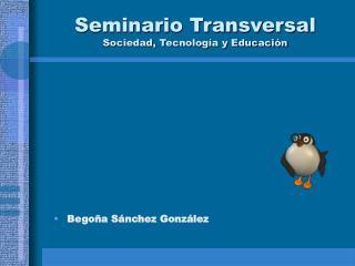 Seminario Transversal Sociedad, Tecnología y Educación