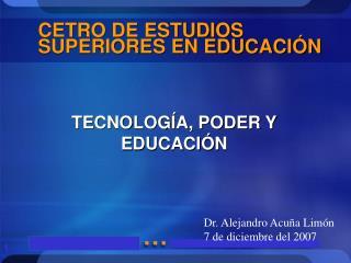 CETRO DE ESTUDIOS SUPERIORES EN EDUCACIÓN